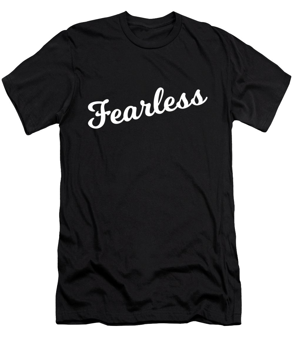 Cool Men's T-Shirt (Athletic Fit) featuring the digital art Fearless by Flippin Sweet Gear