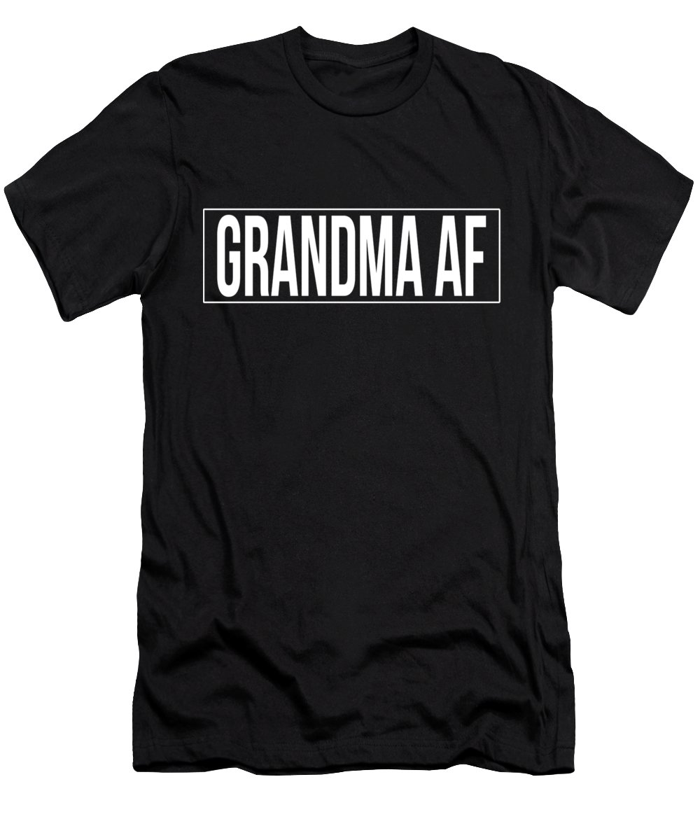 Cool Men's T-Shirt (Athletic Fit) featuring the digital art Grandma Af by Flippin Sweet Gear