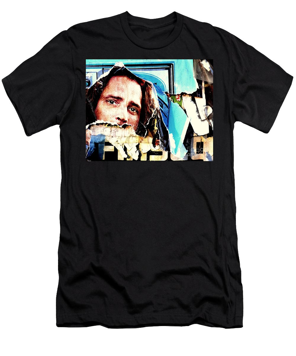 Abstract T-Shirt featuring the photograph I Am Watching You by Guntis Lauzums