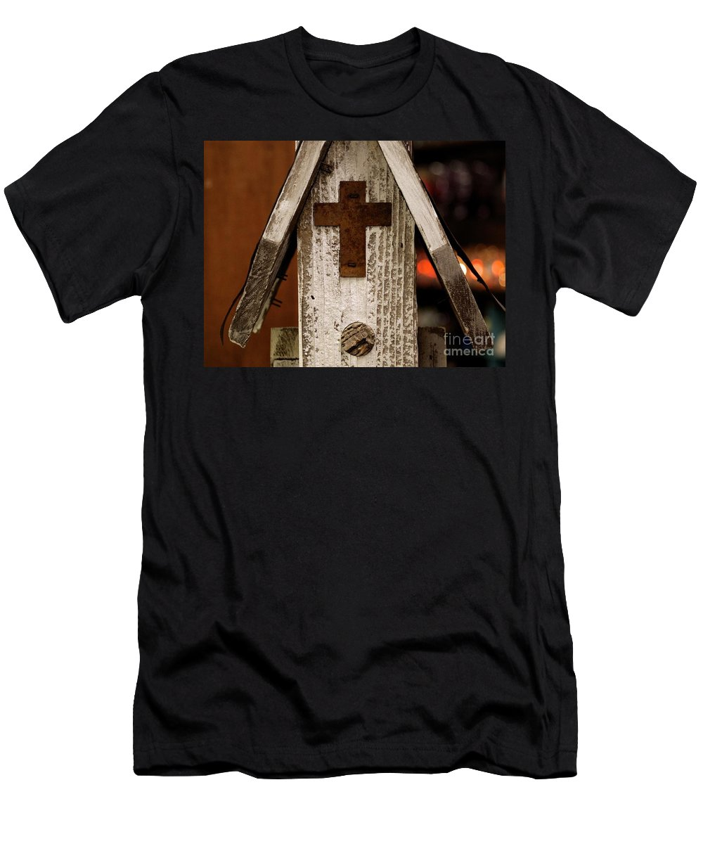 Love T-Shirt featuring the photograph In Gods House by Andres Cavazos