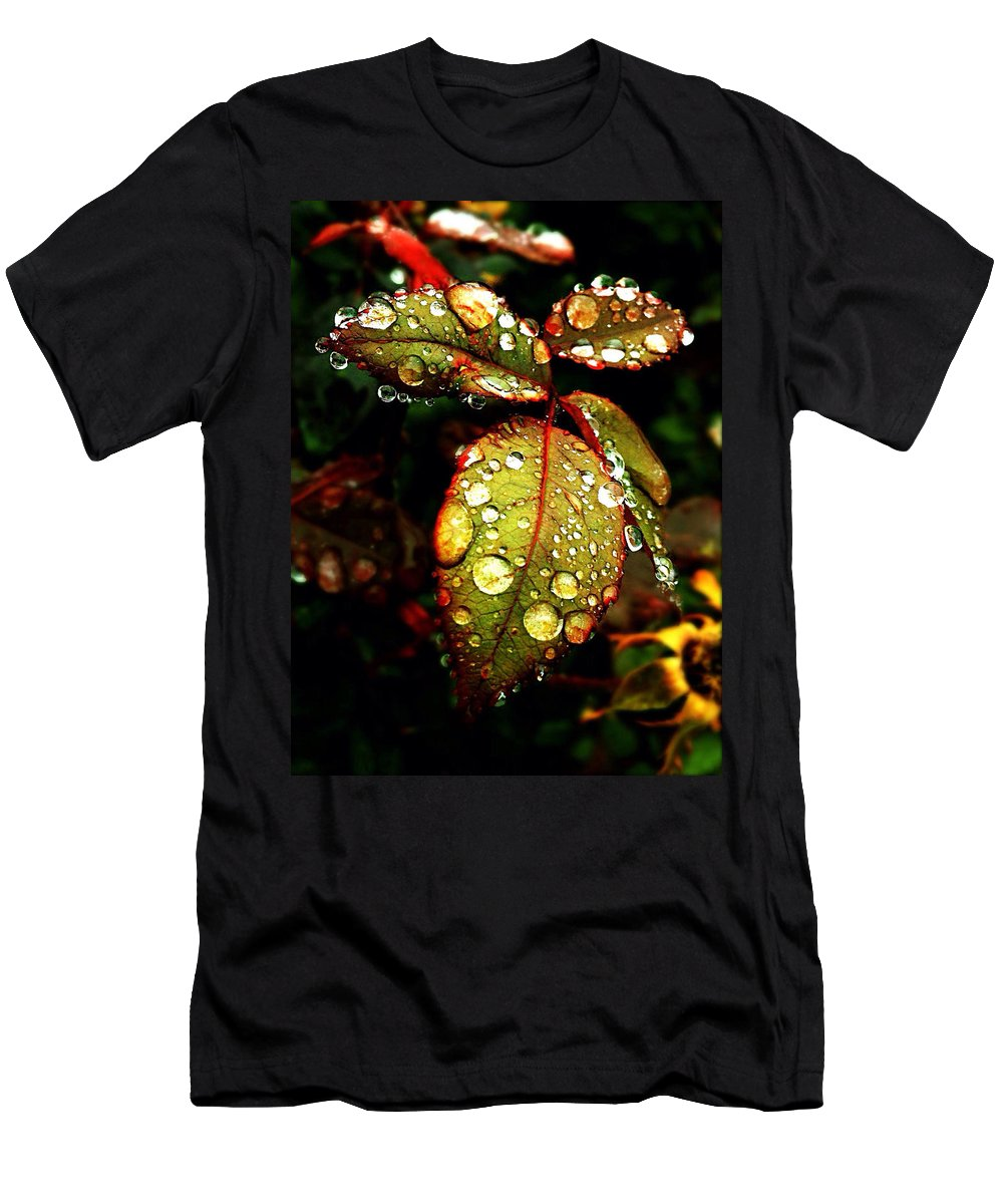 Nature T-Shirt featuring the photograph In The Dew by Andres Cavazos