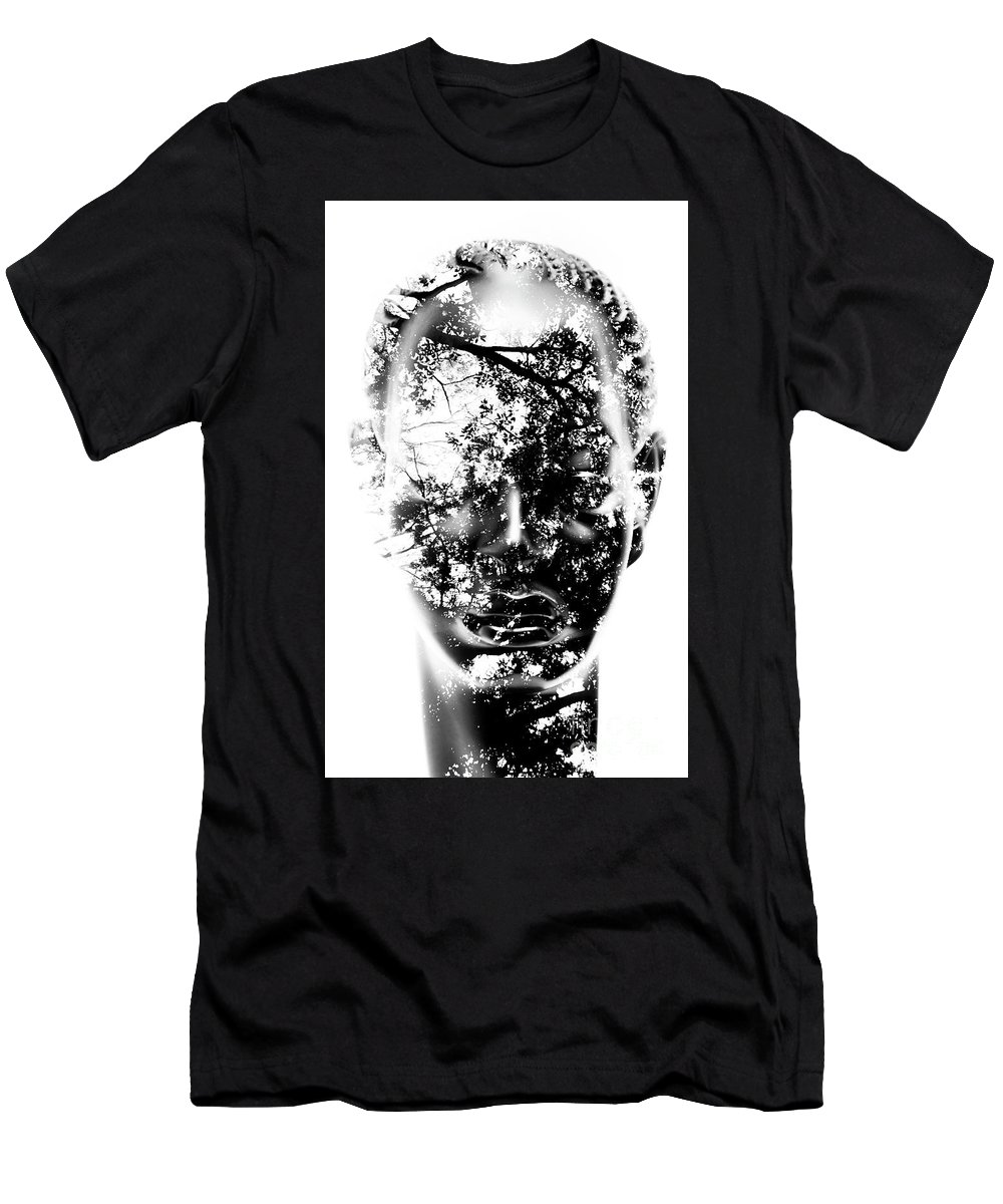 Modern T-Shirt featuring the photograph Inside by Jorgo Photography - Wall Art Gallery
