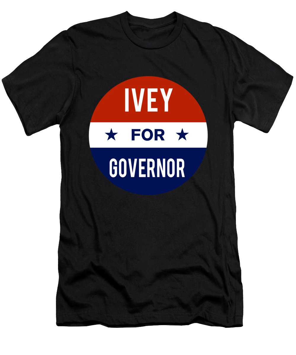 Election Men's T-Shirt (Athletic Fit) featuring the digital art Ivey For Governor 2018 by Flippin Sweet Gear