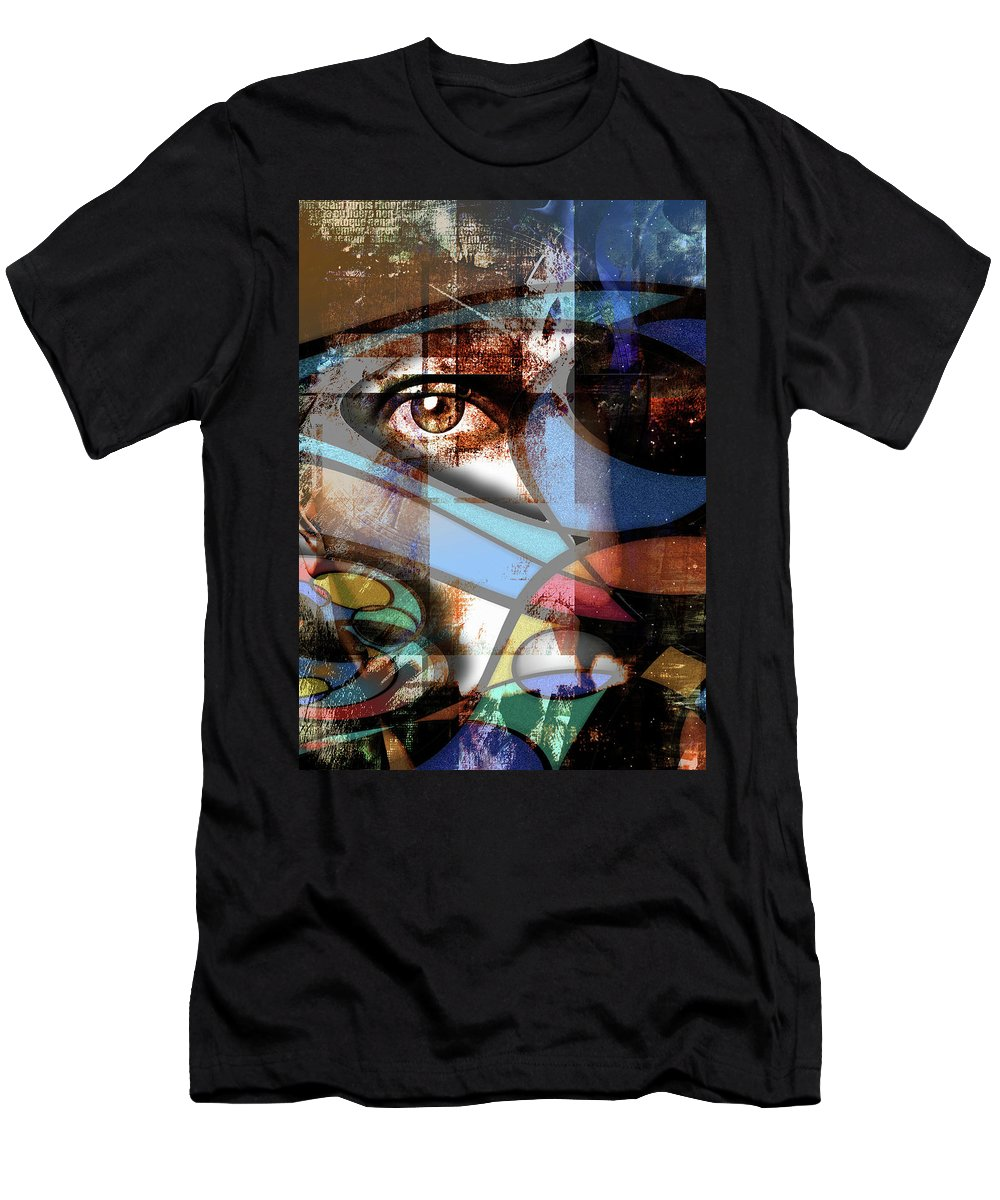 Abstract T-Shirt featuring the digital art Watch by Bruce Rolff