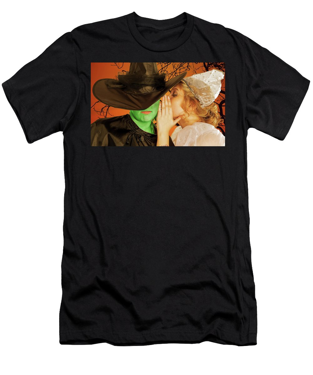 Broadway T-Shirt featuring the photograph Wicked 2 by Alan D Smith