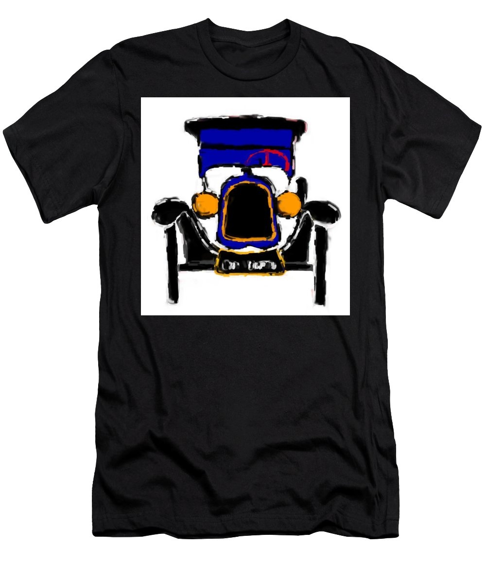 F1 T-Shirt featuring the mixed media F1 by Asbjorn Lonvig