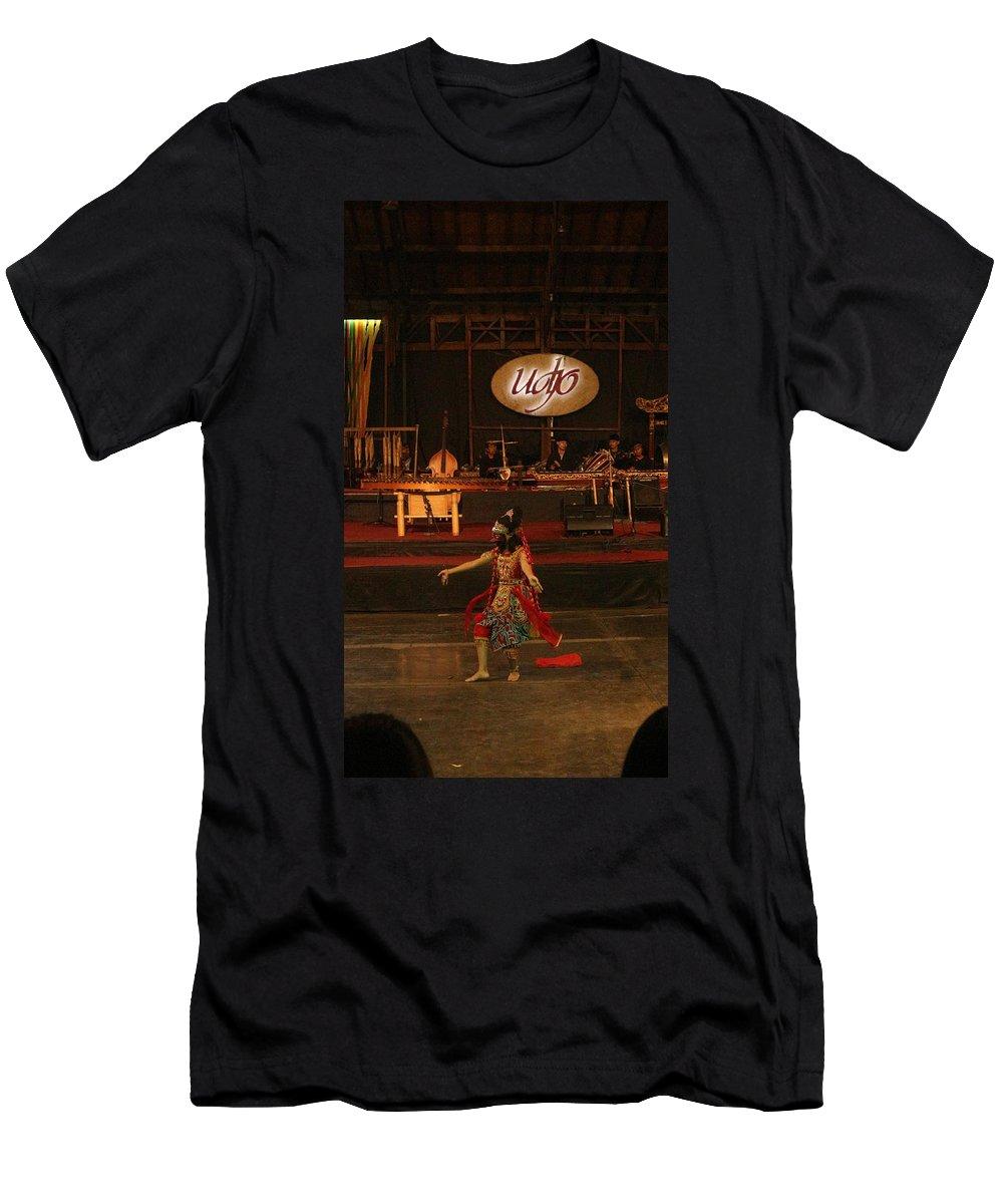 Dance T-Shirt featuring the photograph Mask Dance by Lingga Tiara Setiadi