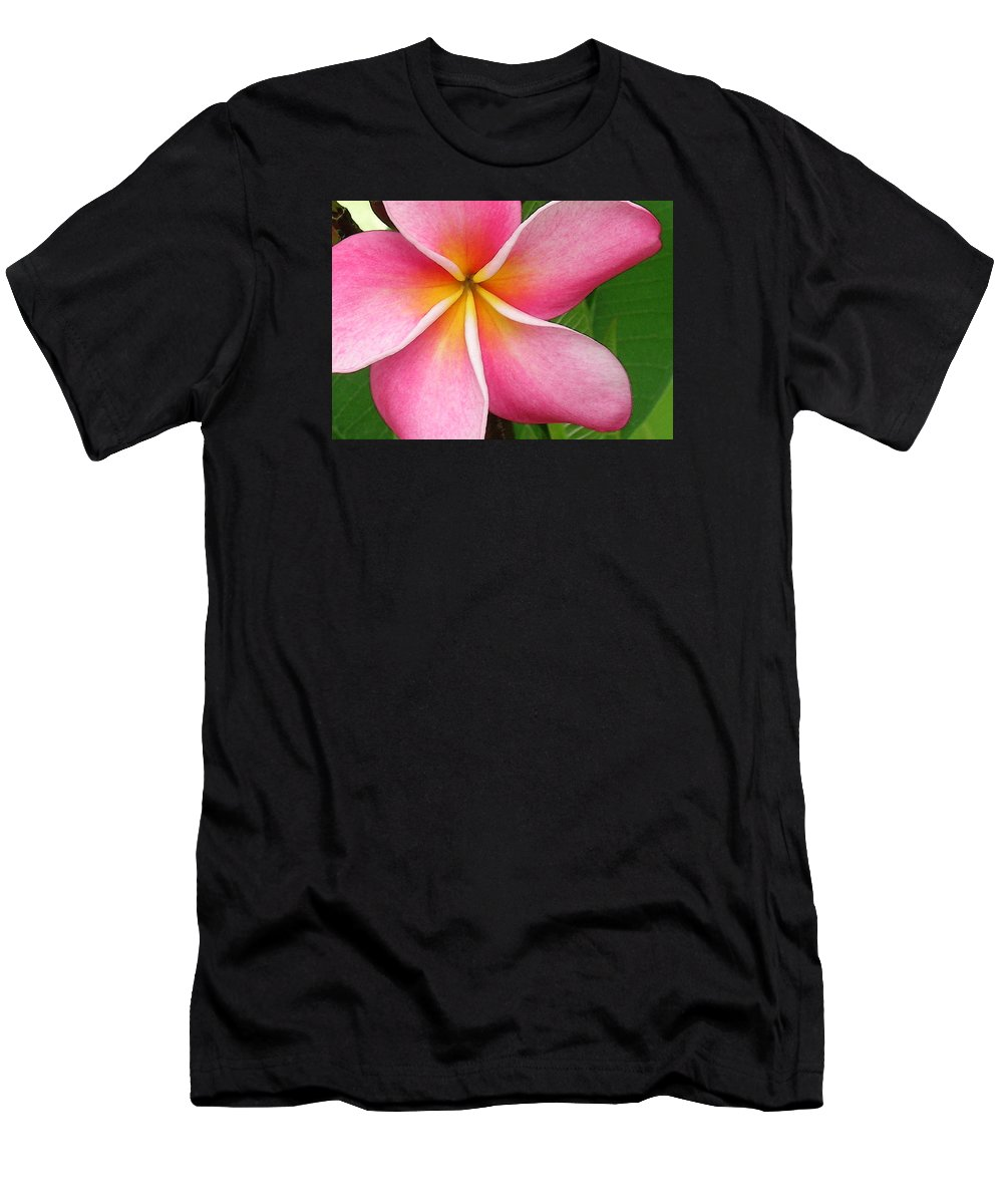 Hawaii Iphone Cases T-Shirt featuring the photograph April Plumeria by James Temple