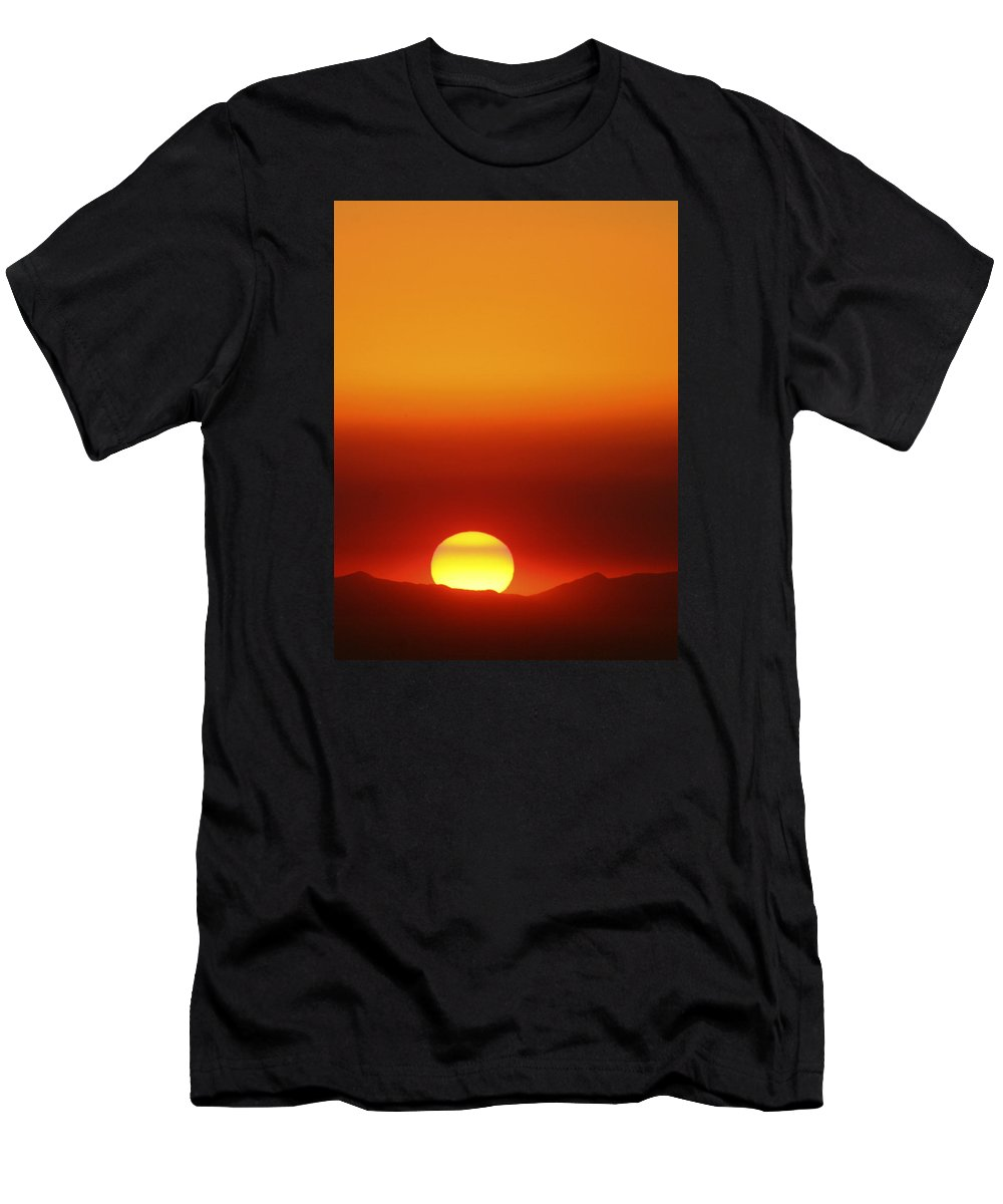Catalina Sunset T-Shirt featuring the photograph Catalina Sun by Andre Aleksis