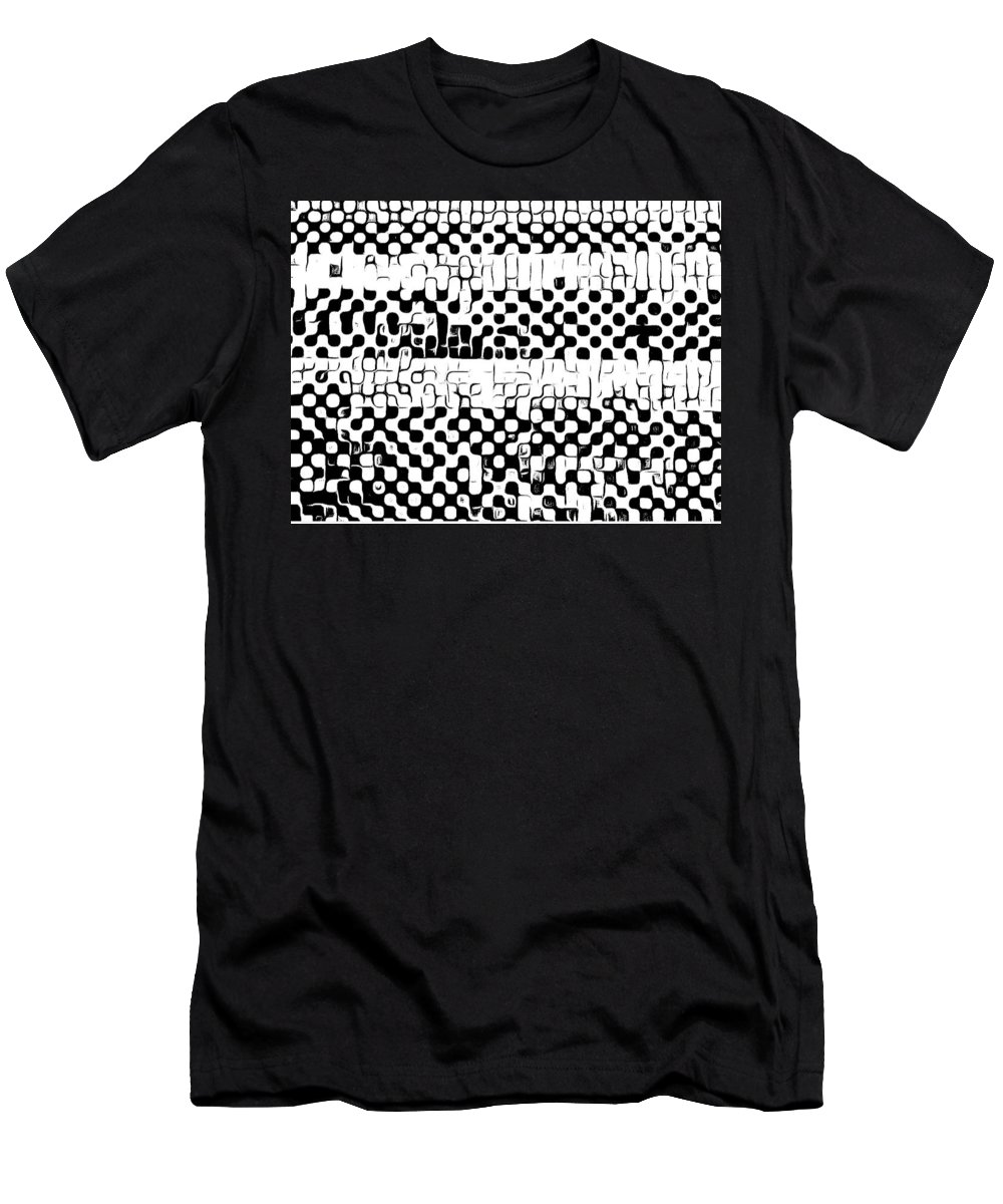 Art T-Shirt featuring the digital art Details by Andrew Johnson