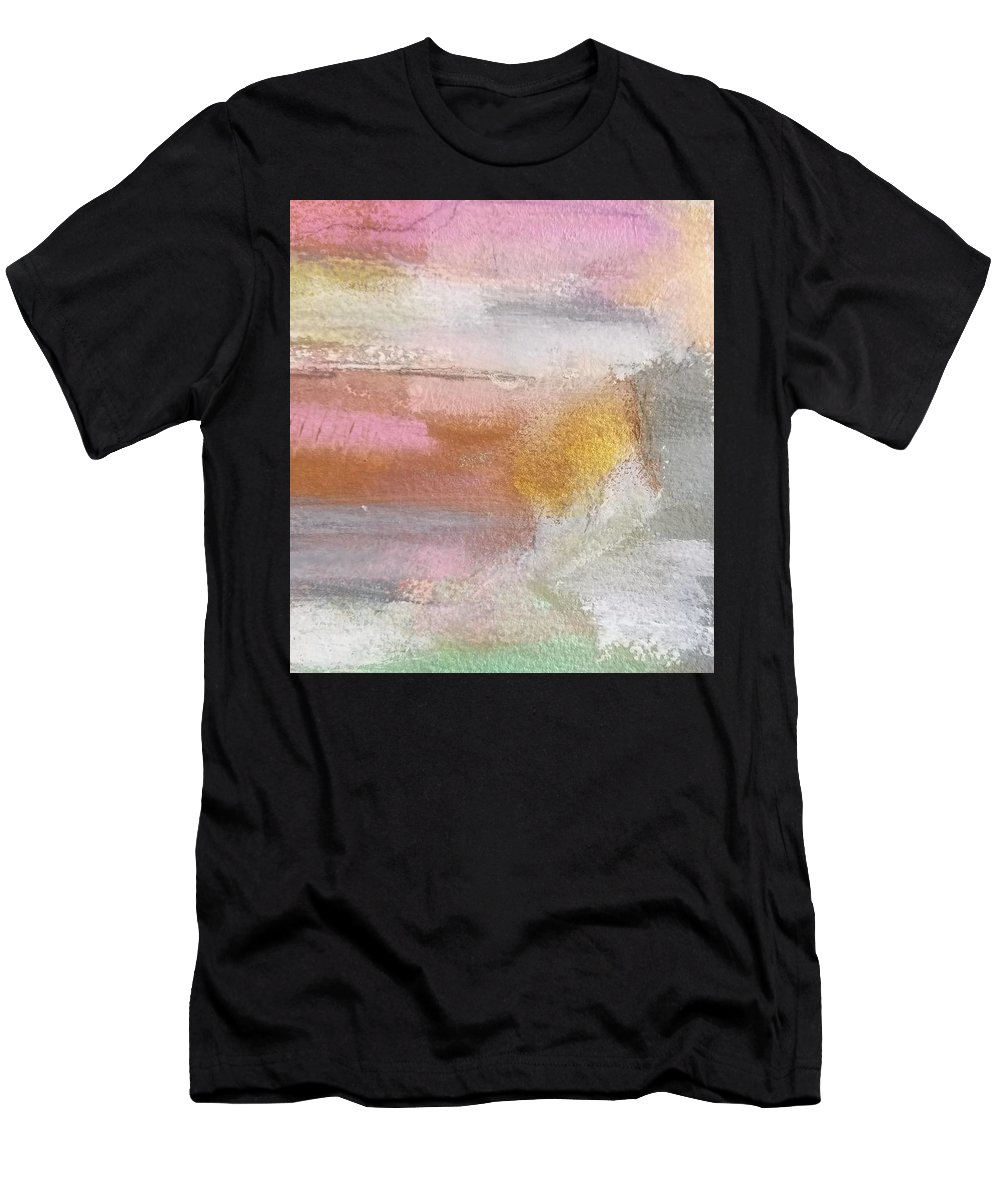 Abstract T-Shirt featuring the painting Nothing Can Dim the Light by Patricia Byron