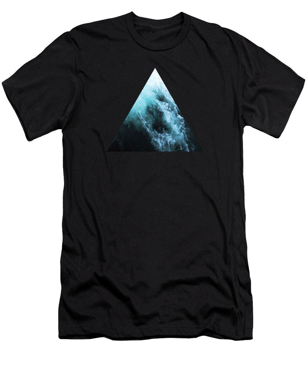 Ocean T-Shirt featuring the photograph Ocean Spray II by Cassia Beck