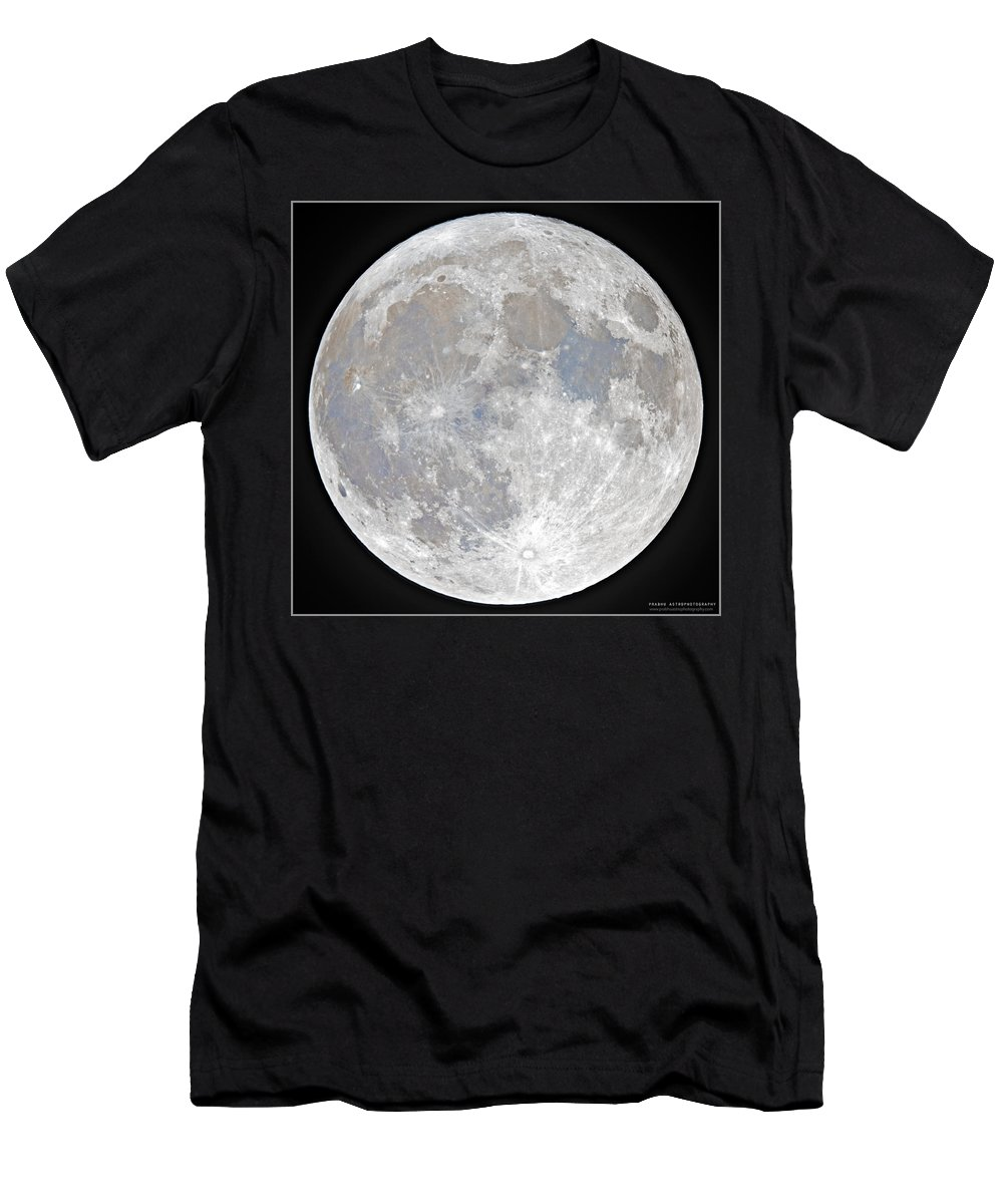 Fullmoon T-Shirt featuring the photograph October 2020 Halloween Full/Blue Moon by Prabhu Astrophotography
