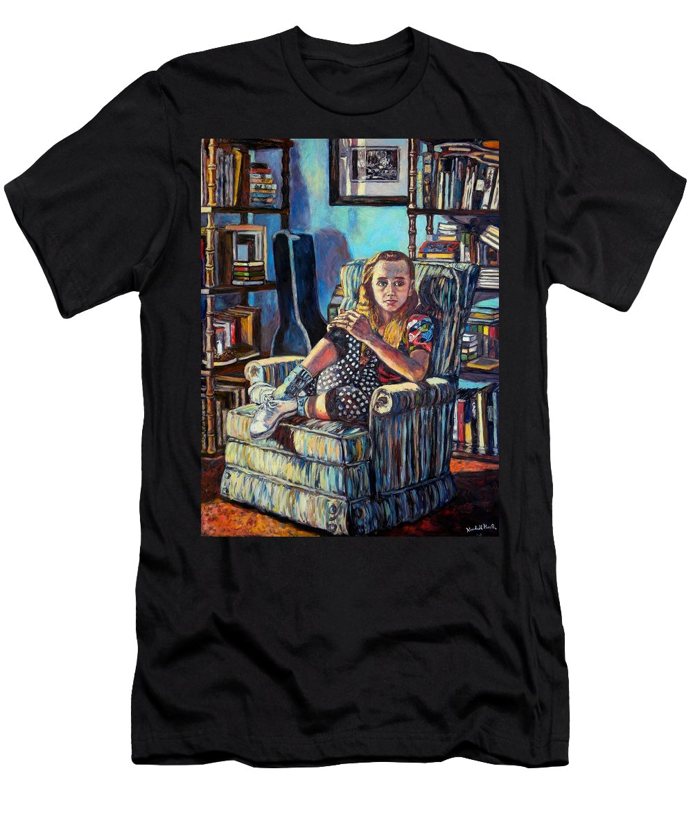 Figure T-Shirt featuring the painting Samantha by Kendall Kessler