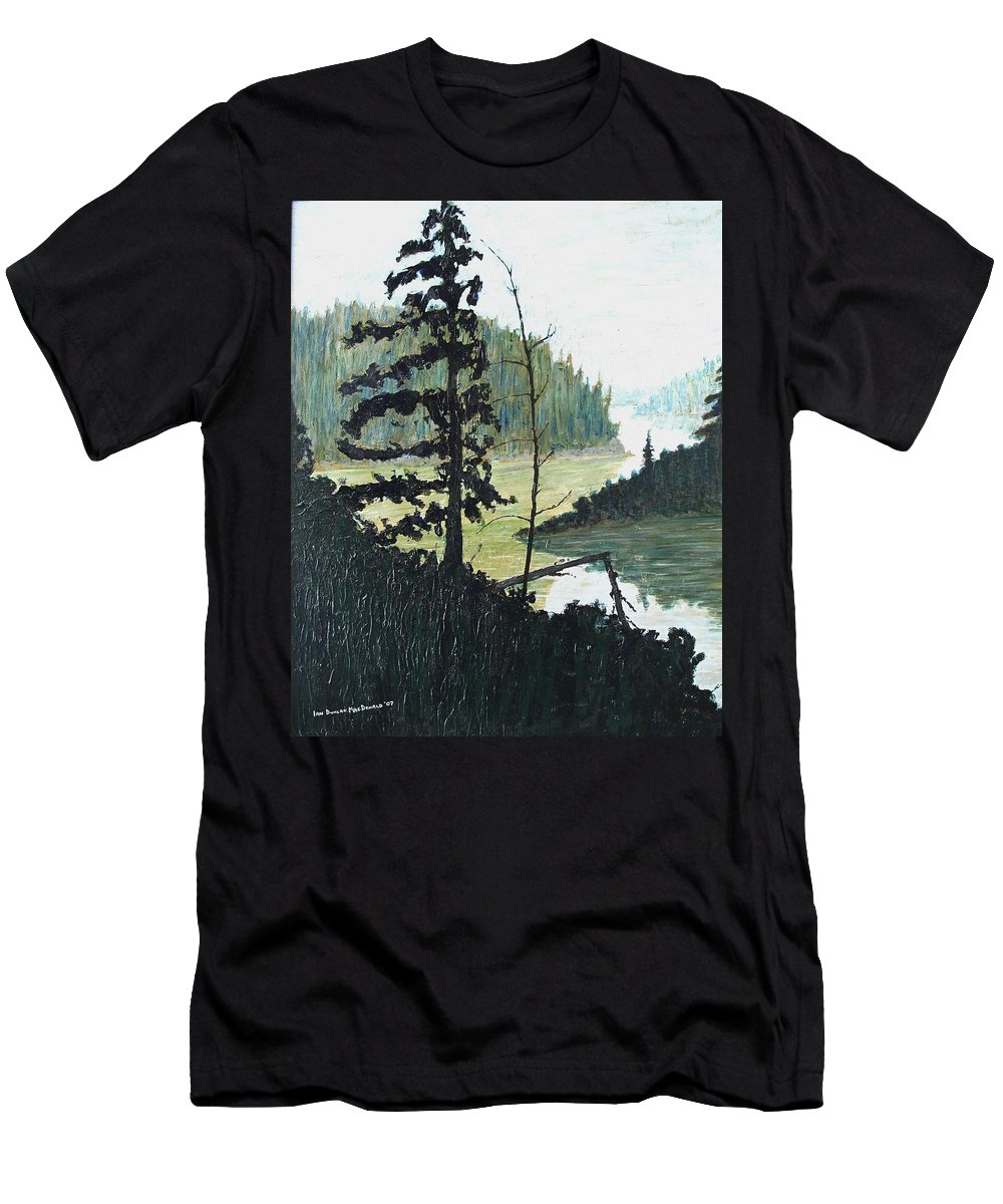 Sudbury T-Shirt featuring the painting South of Sudbury by Ian MacDonald