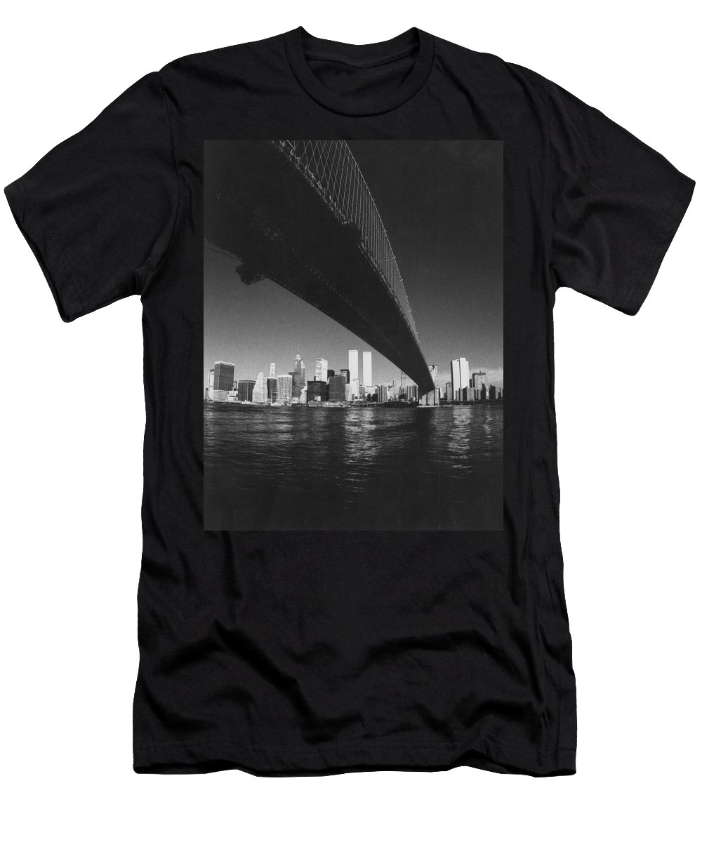 Famous Buildings T-Shirt featuring the photograph World Trade Center Nyc by Steven Huszar