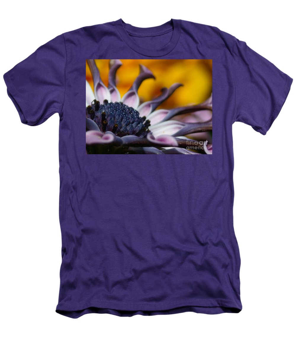 Flower Men's T-Shirt (Athletic Fit) featuring the photograph Beautiful by Line Gagne
