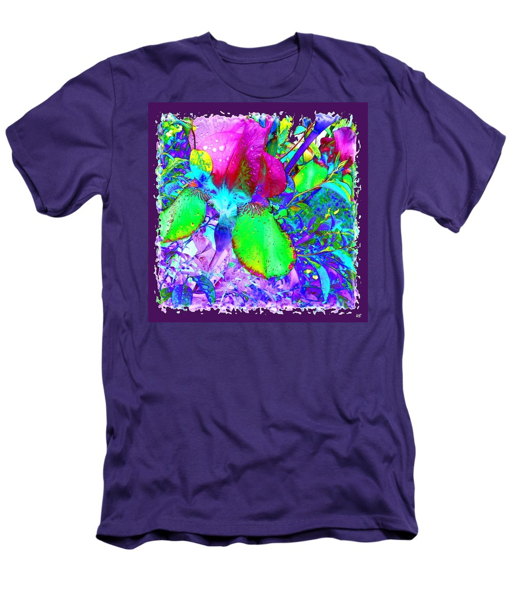 Dramatic Men's T-Shirt (Athletic Fit) featuring the digital art After The Rain by Will Borden