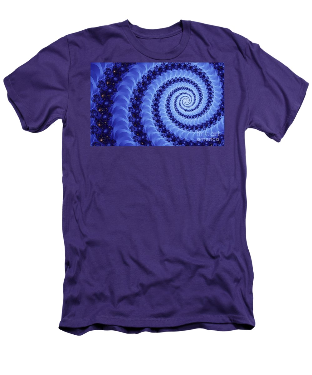 Clay Men's T-Shirt (Athletic Fit) featuring the digital art Astral Vortex by Clayton Bruster