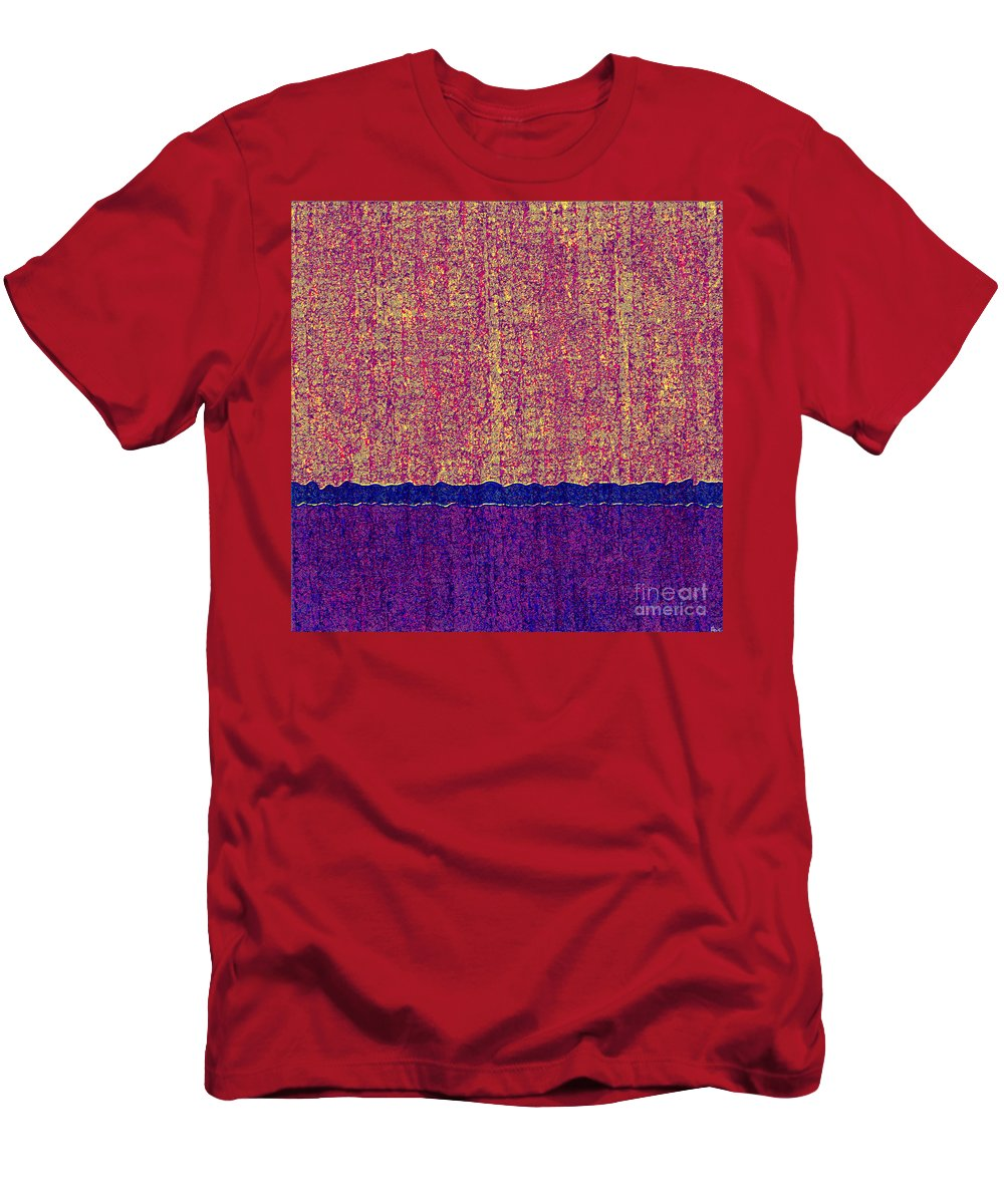 Abstract Men's T-Shirt (Athletic Fit) featuring the digital art 0116 Abstract Thought by Chowdary V Arikatla