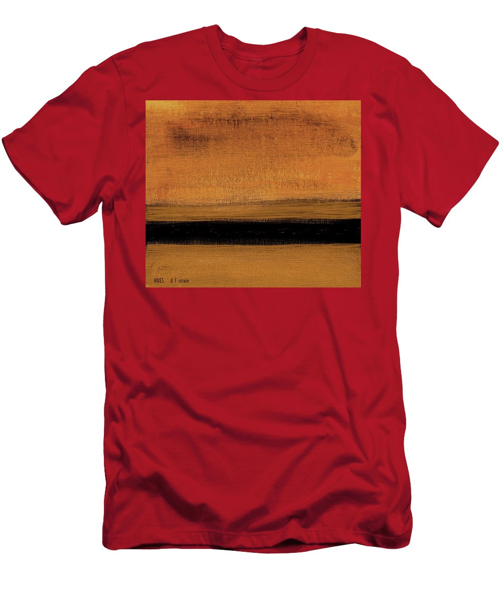 Fineartamerica.com Men's T-Shirt (Athletic Fit) featuring the painting Hues by Diane Strain