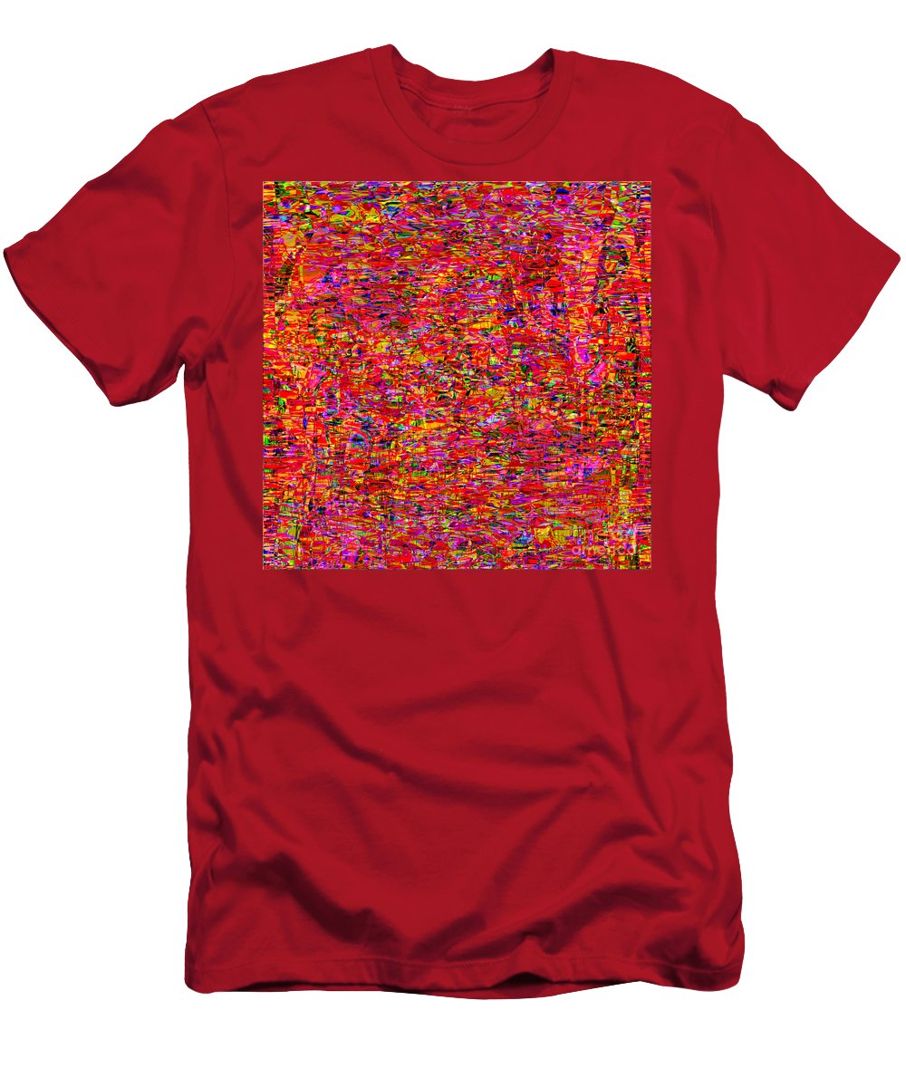 Abstract Men's T-Shirt (Athletic Fit) featuring the digital art 1251 Abstract Thought by Chowdary V Arikatla