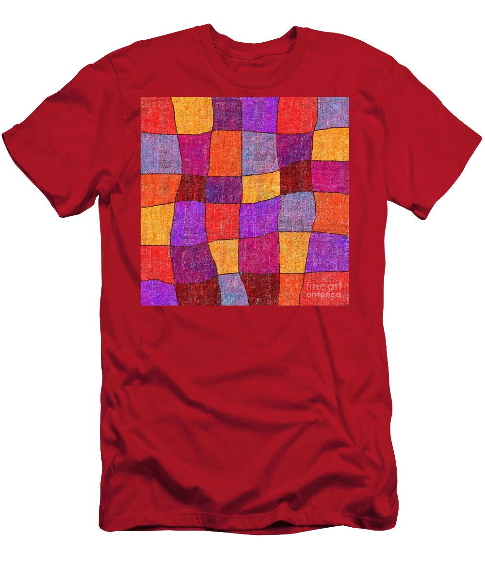 Abstract Men's T-Shirt (Athletic Fit) featuring the digital art 1343 Abstract Thought by Chowdary V Arikatla