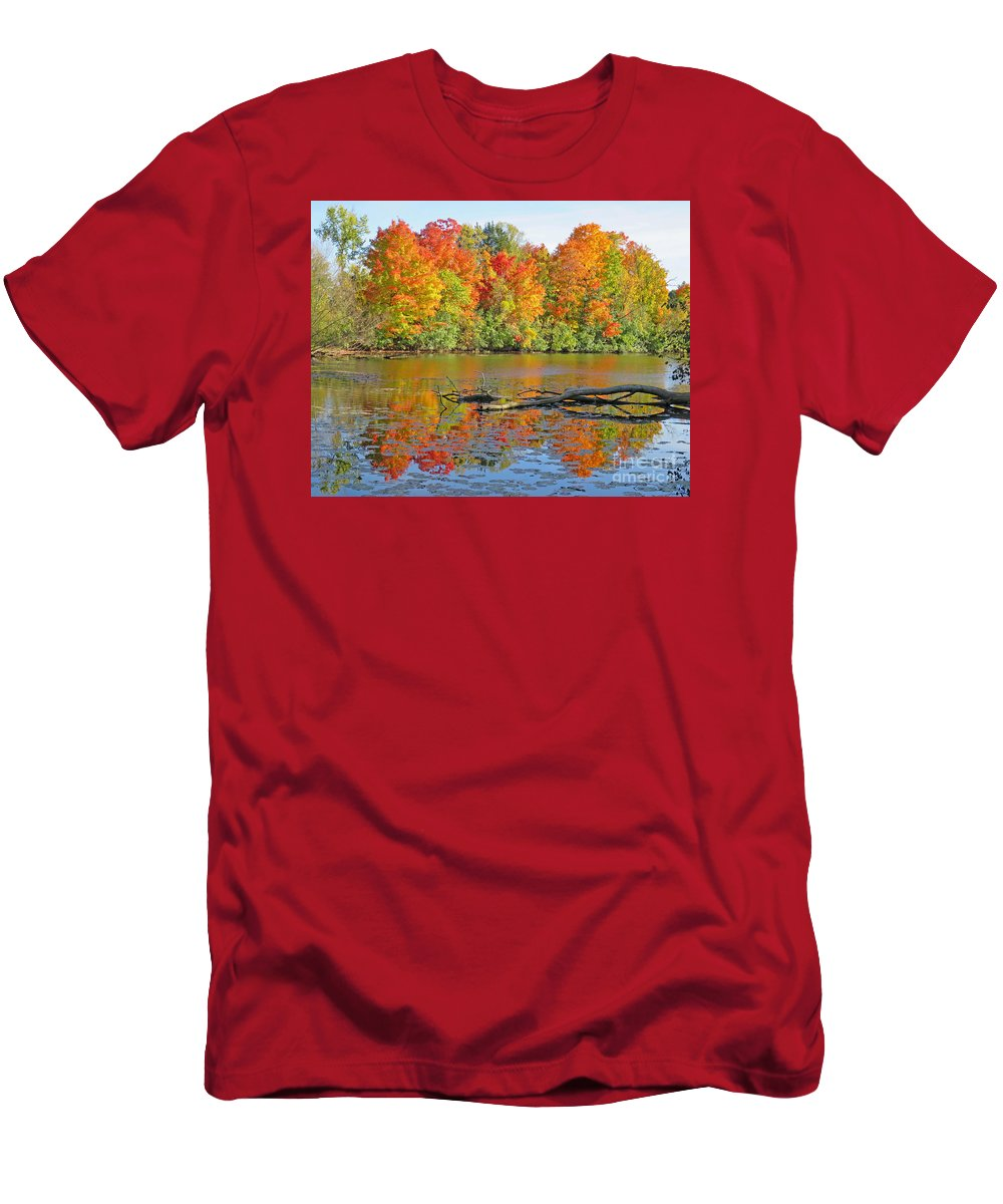 Autumn T-Shirt featuring the photograph Autumn Glory by Ann Horn