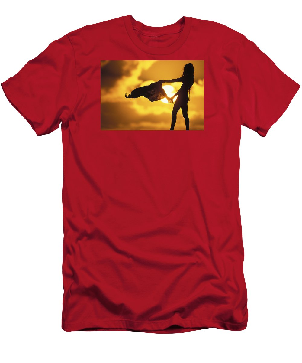 Beach Girl T-Shirt featuring the photograph Beach Girl by Sean Davey
