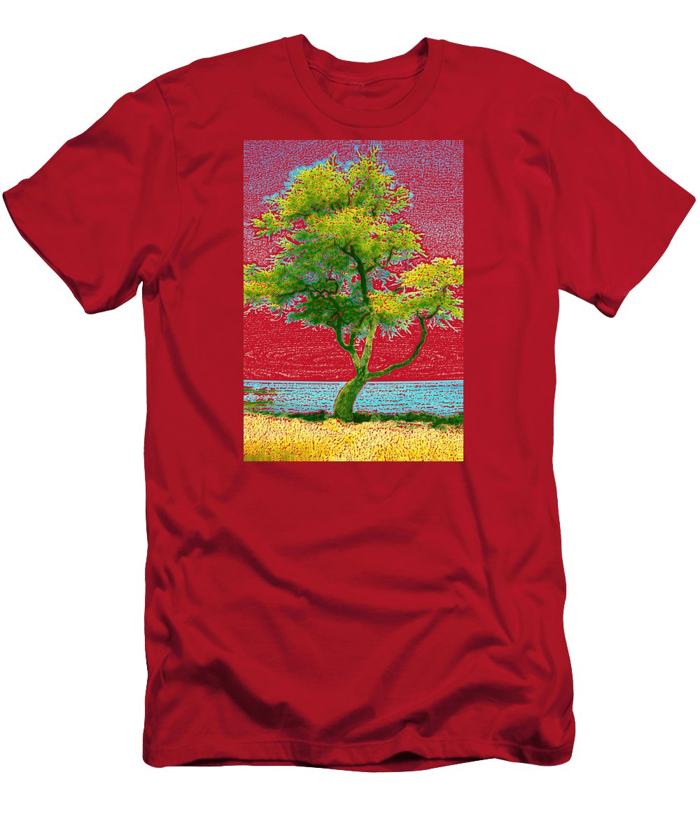 Landscape T-Shirt featuring the photograph Big Island Tree by Andre Aleksis