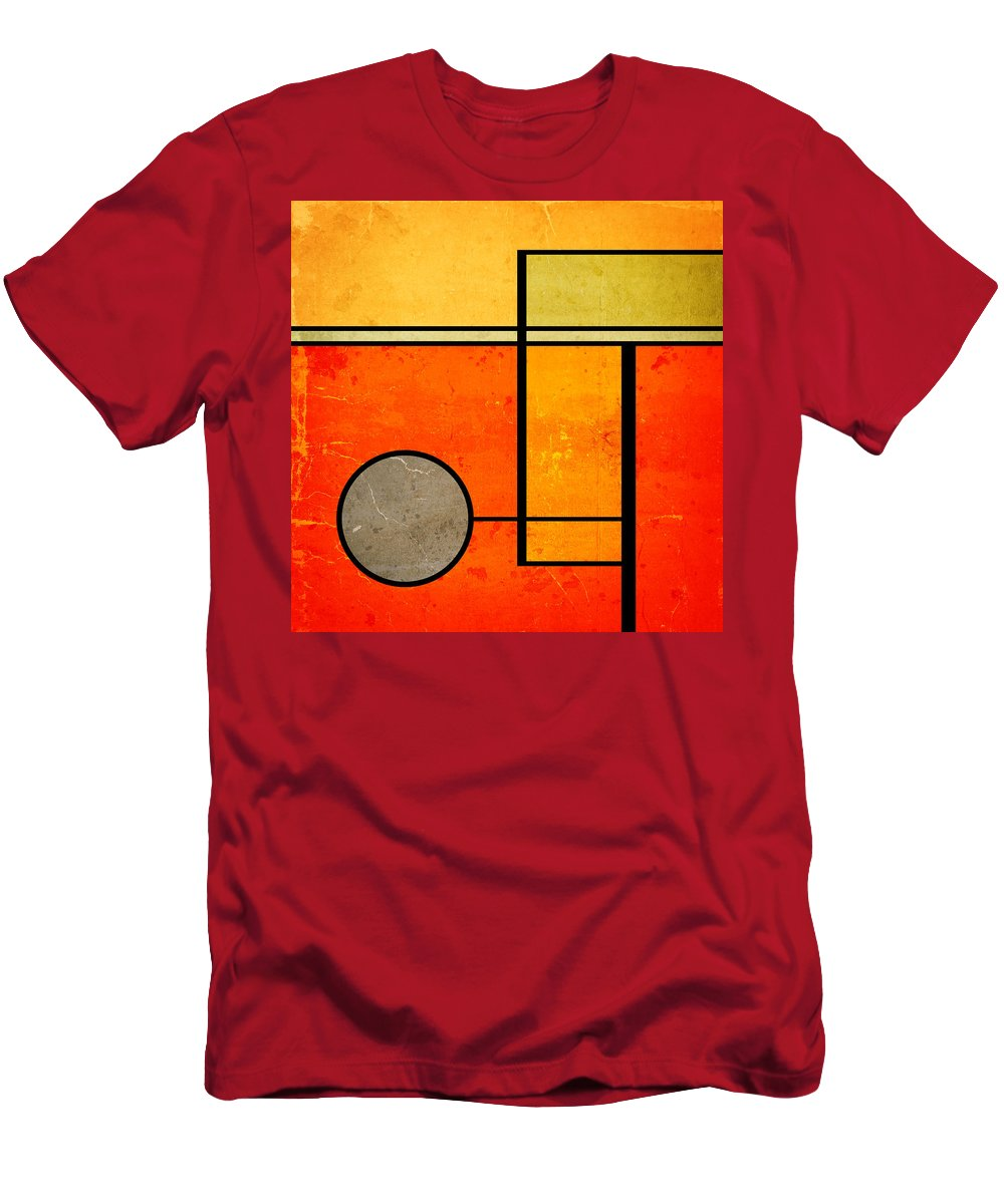 Bold Assumptions Men's T-Shirt (Athletic Fit) featuring the digital art Bold Assumptions by Richard Rizzo