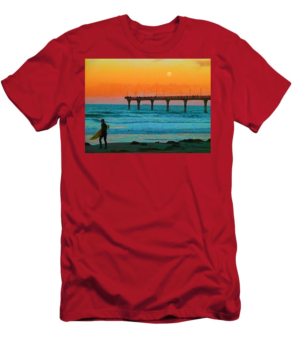California Dreaming Men's T-Shirt (Athletic Fit) featuring the photograph California Dreamin' by Steve Taylor