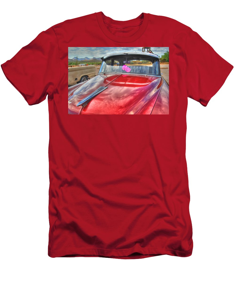 Chevy Men's T-Shirt (Athletic Fit) featuring the photograph Chevy Classic by Tam Ryan