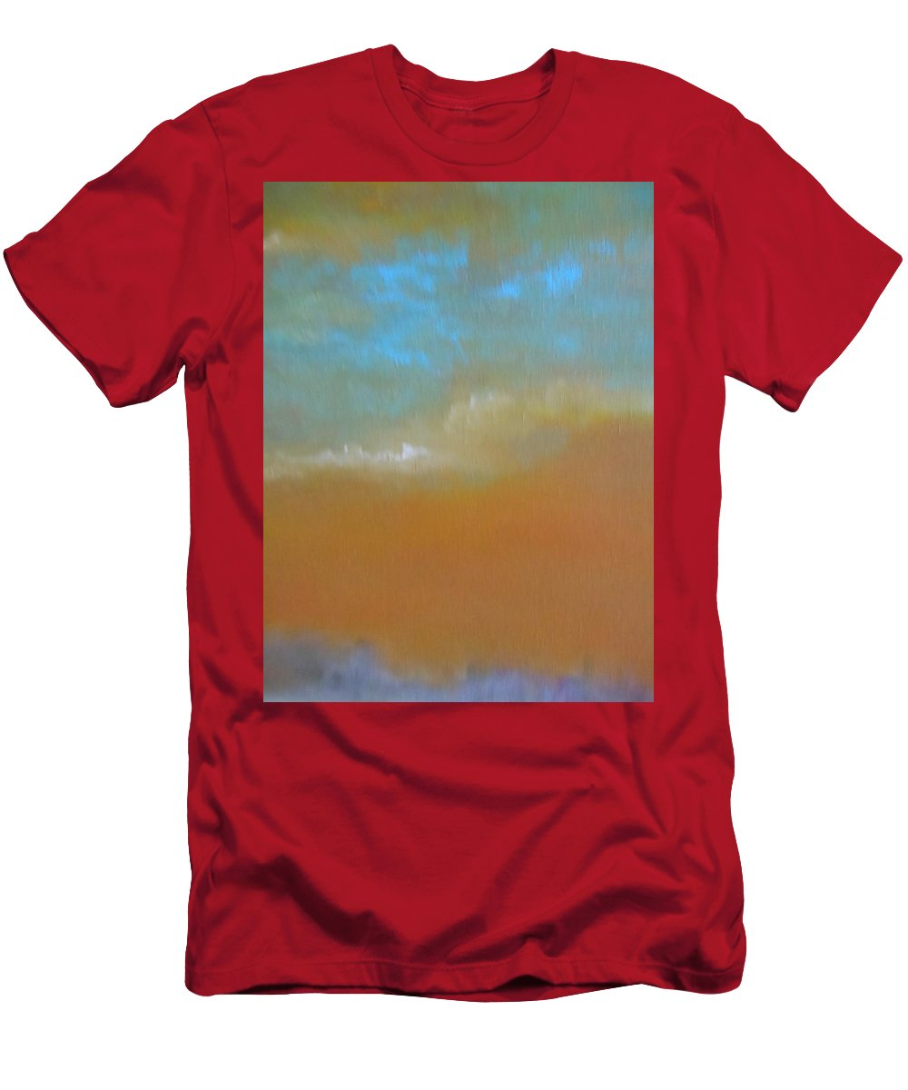 Abstract Men's T-Shirt (Athletic Fit) featuring the painting City Lights by Lord Frederick Lyle Morris - Disabled Veteran