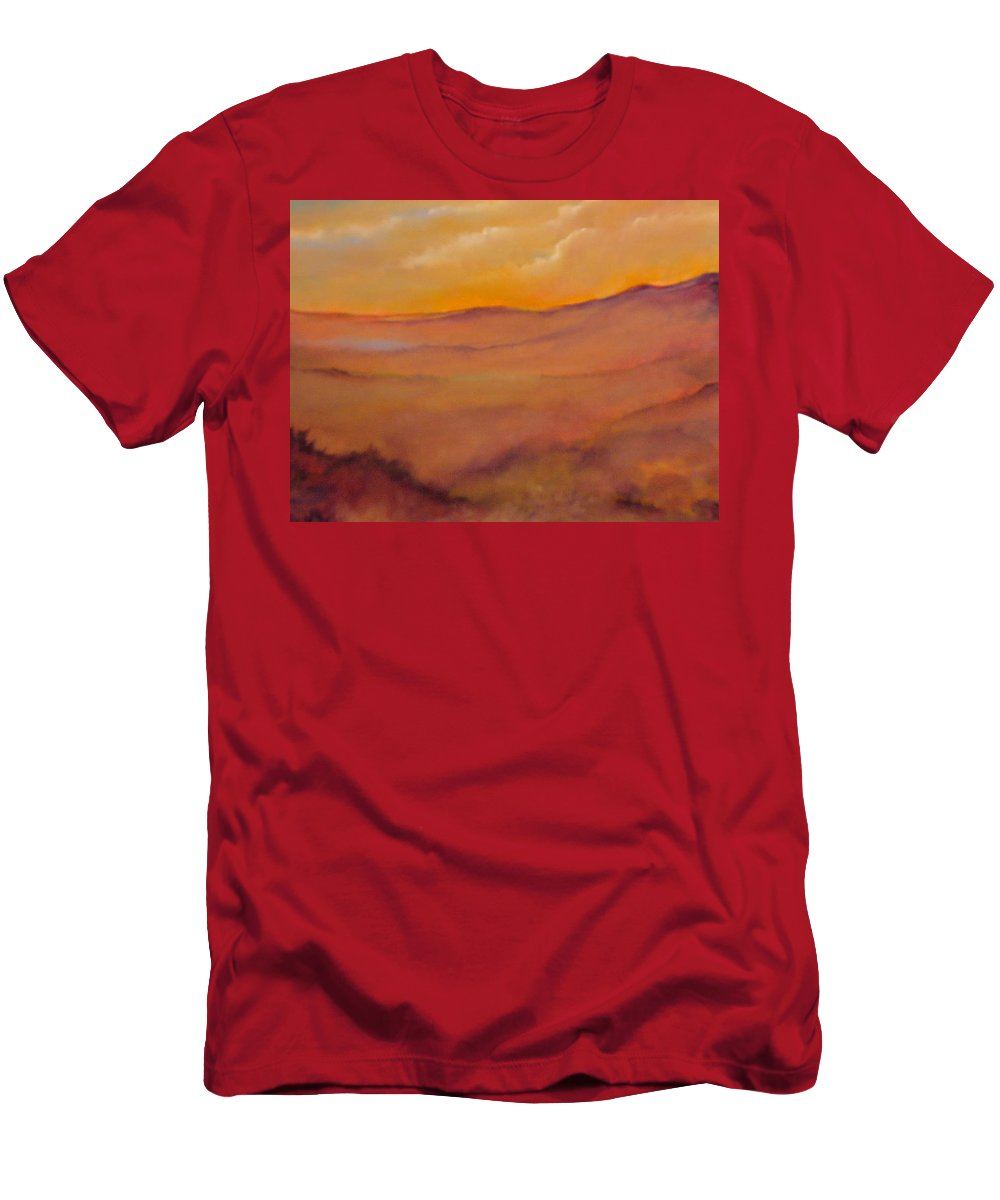 Colorado Men's T-Shirt (Athletic Fit) featuring the painting Colorado Vii by Lord Frederick Lyle Morris
