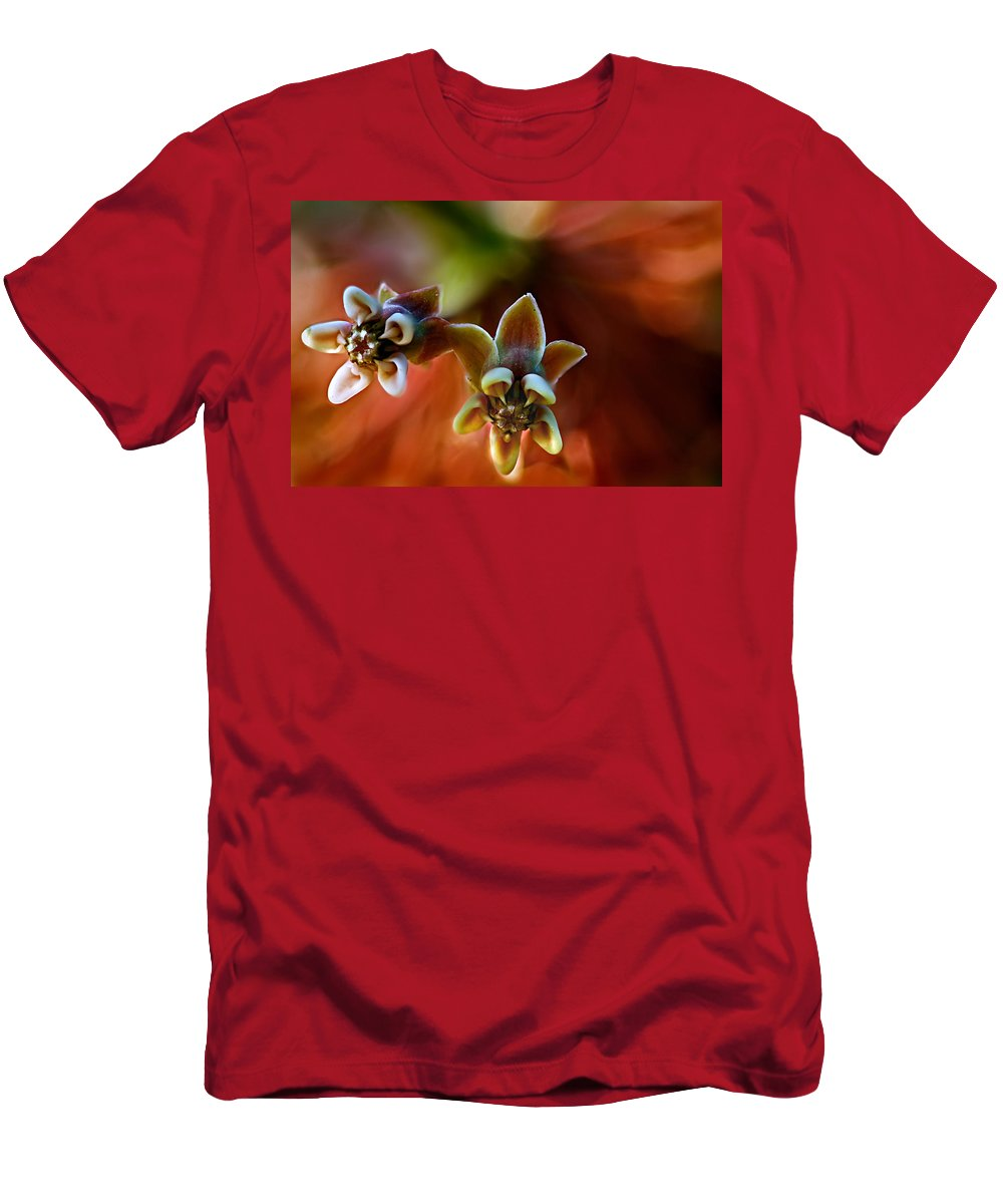 2012 Men's T-Shirt (Athletic Fit) featuring the photograph Common Milkweed by Robert Charity