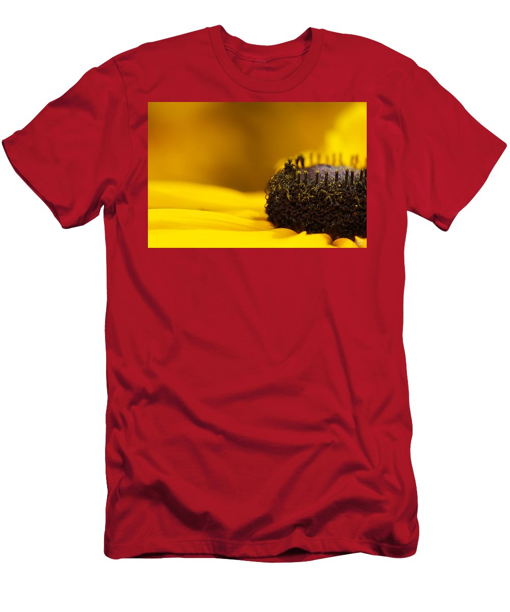 Lisa Knechtel Men's T-Shirt (Athletic Fit) featuring the photograph Crowning Sunshine by Lisa Knechtel