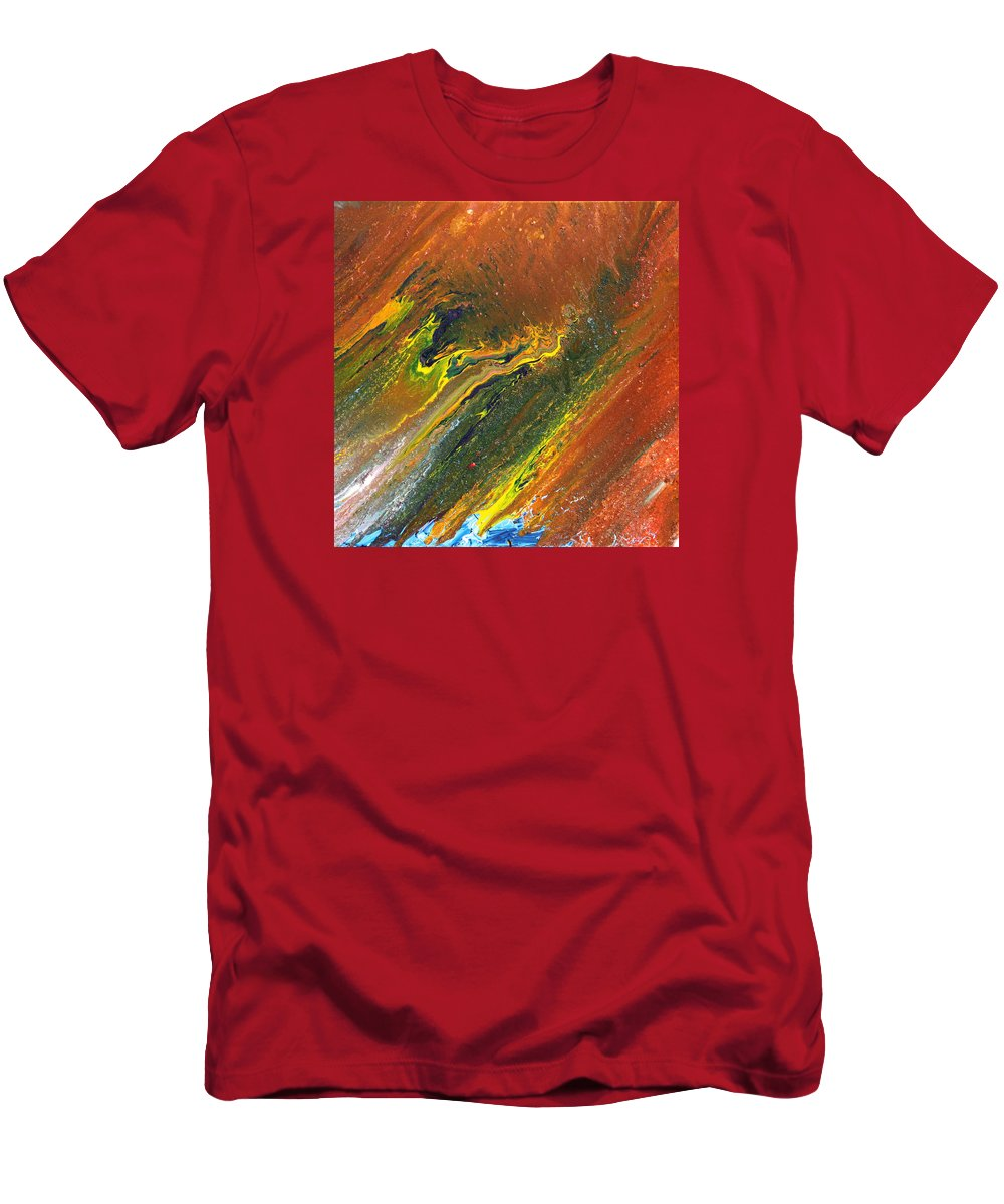 Fusionart T-Shirt featuring the painting Distance by Ralph White
