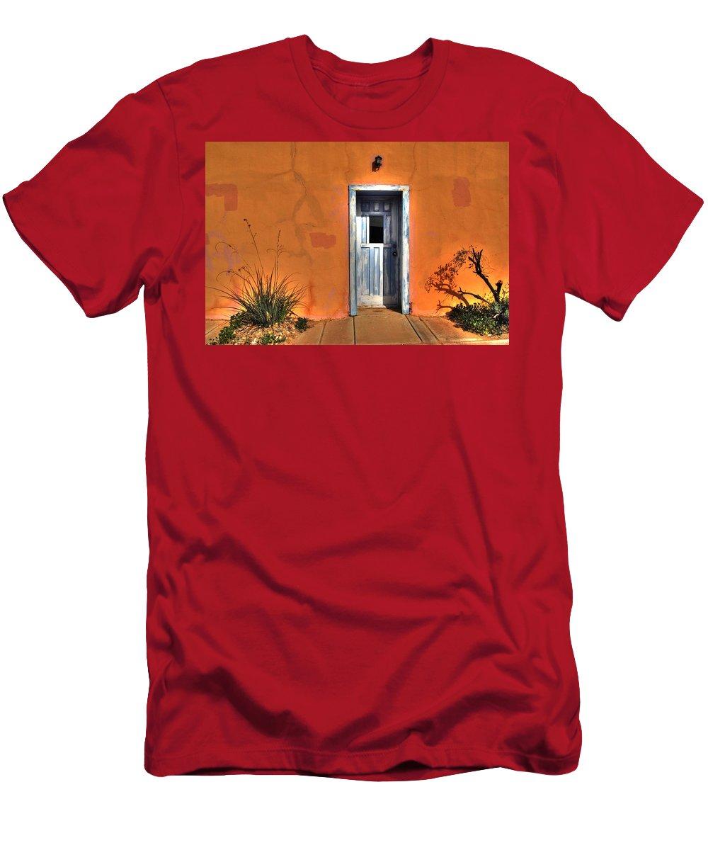 Door Men's T-Shirt (Athletic Fit) featuring the photograph Door by Tam Ryan
