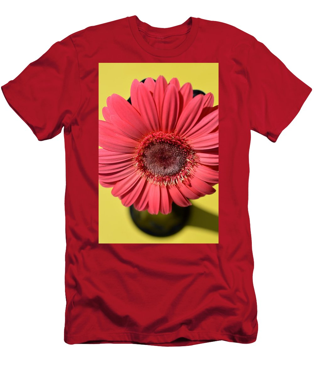 Flower Men's T-Shirt (Athletic Fit) featuring the photograph Dsc0073d by Kimberlie Gerner