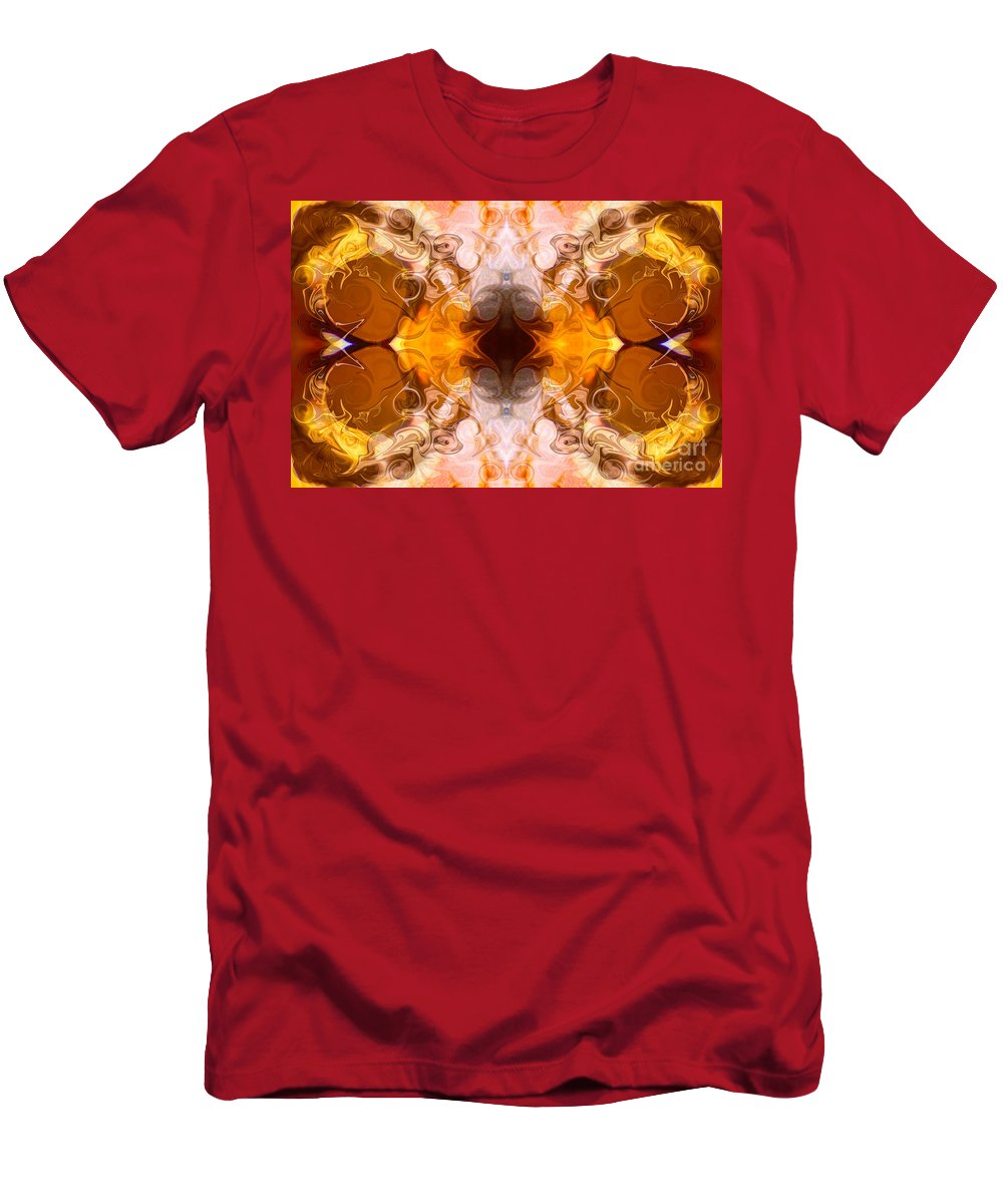 2x3 (4x6) Men's T-Shirt (Athletic Fit) featuring the digital art Exploding Ideas Abstract Pattern Artwork By Omaste Witkowski by Omaste Witkowski