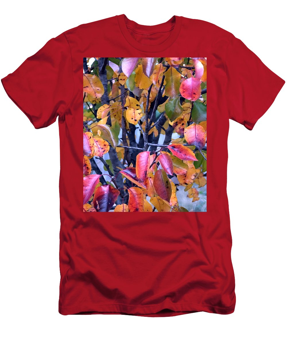 Tree T-Shirt featuring the photograph Fall Colors by Jeanne A Martin