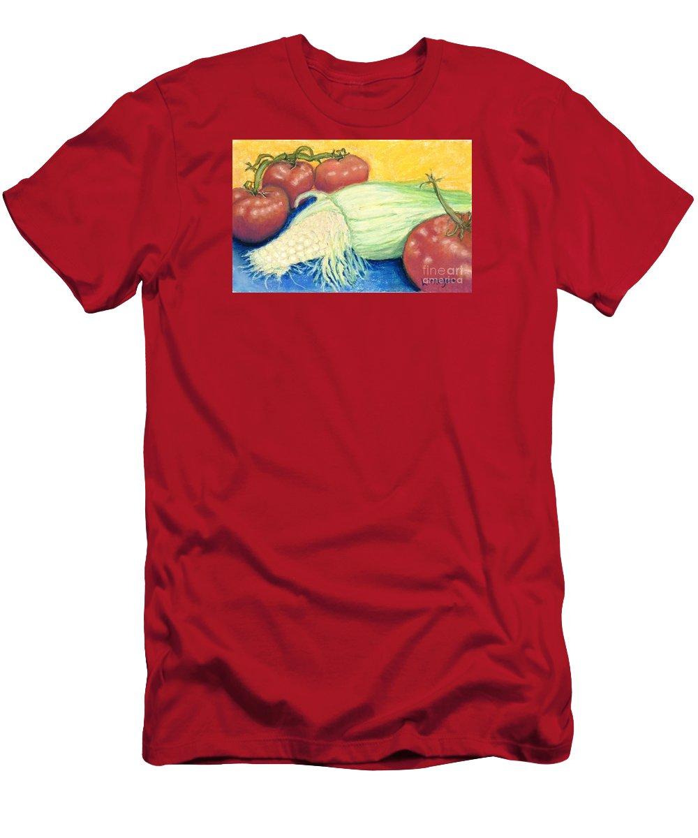 Farm T-Shirt featuring the pastel Farm Fresh by Laurie Morgan