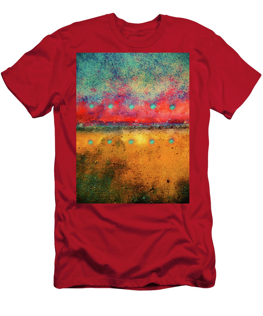 Texture Men's T-Shirt (Athletic Fit) featuring the photograph Grounded by Tara Turner