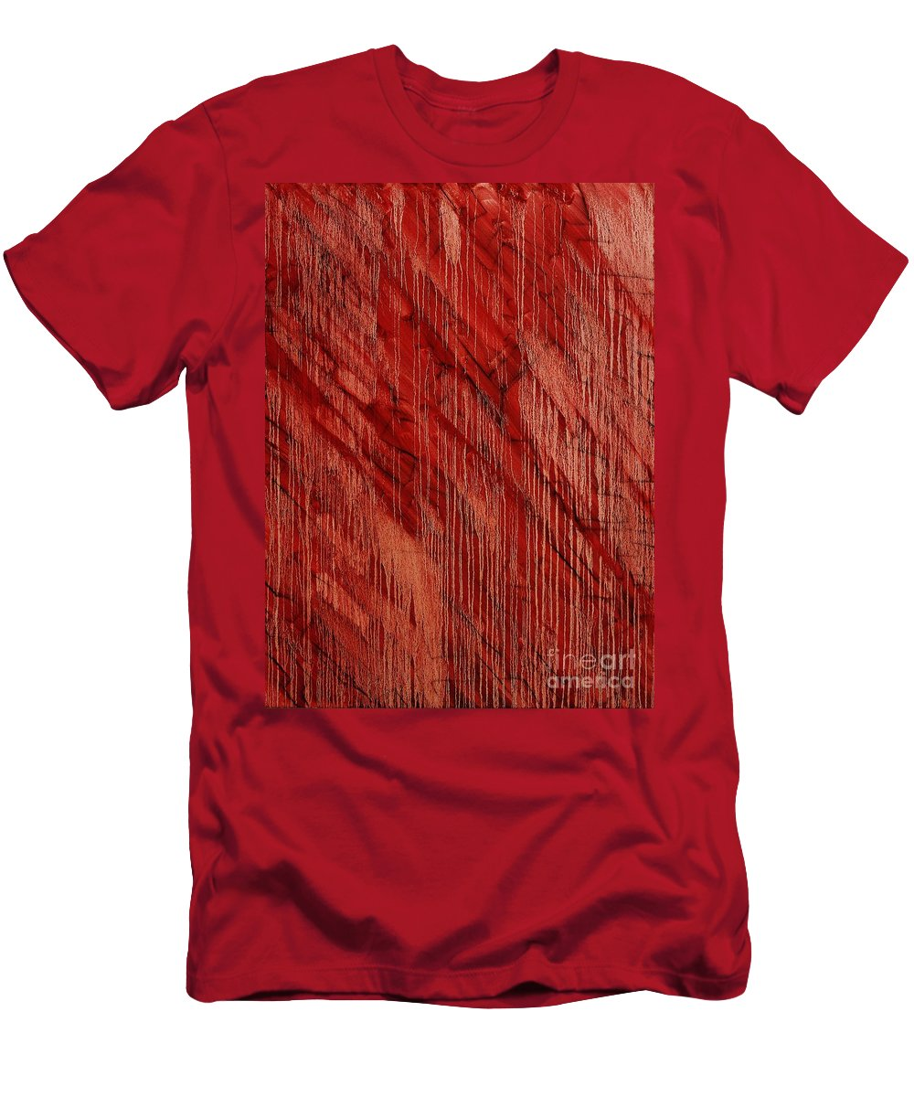 Abstract Men's T-Shirt (Athletic Fit) featuring the painting Hotel California by Wayne Cantrell