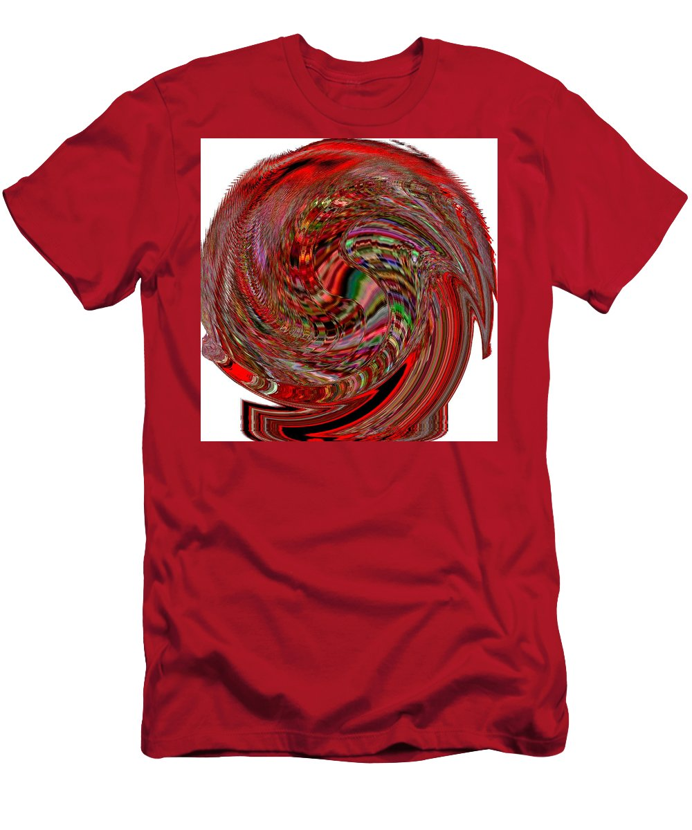 Modern Art Men's T-Shirt (Athletic Fit) featuring the photograph Infinity Mask 2 by Cj Carroll