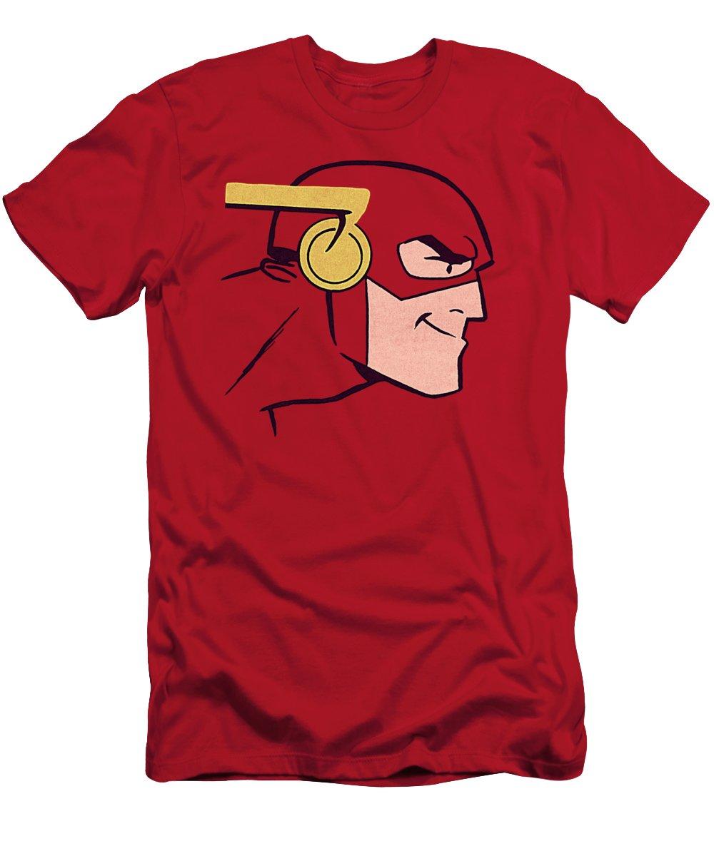 T-Shirt featuring the digital art Jla - Cooke Head by Brand A