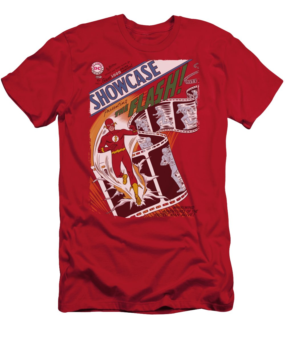 Justice League Of America T-Shirt featuring the digital art Jla - Showcase #4 Cover by Brand A