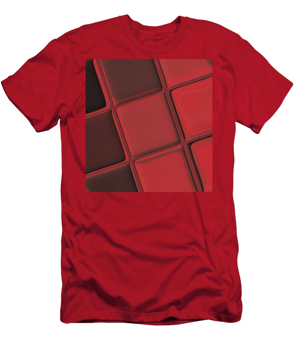 Keyboard Men's T-Shirt (Athletic Fit) featuring the digital art Keyboard Exposure by Pharris Art