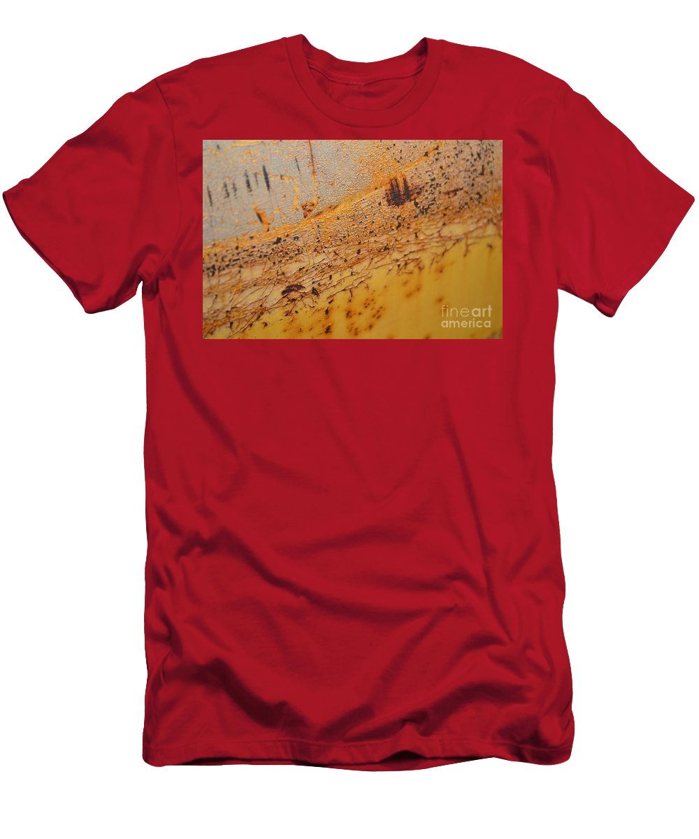 Aide Men's T-Shirt (Athletic Fit) featuring the photograph Lemon Aide by Brian Boyle